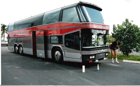 Craig Allison tour bus